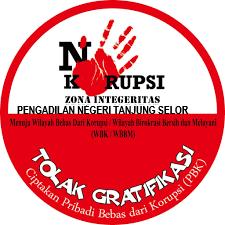 Penerapan Zona Integritas Menuju Wilayah Bebas dari Korupsi (WBK) dan Wilayah Birokrasi. Bersih dan Melayani (WBBM) di Lingkungan Peradilan Negeri Tanjung Selor