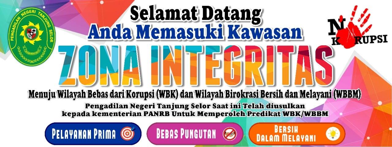 Zona Integritas Pengadilan Negeri Tanjung Selor